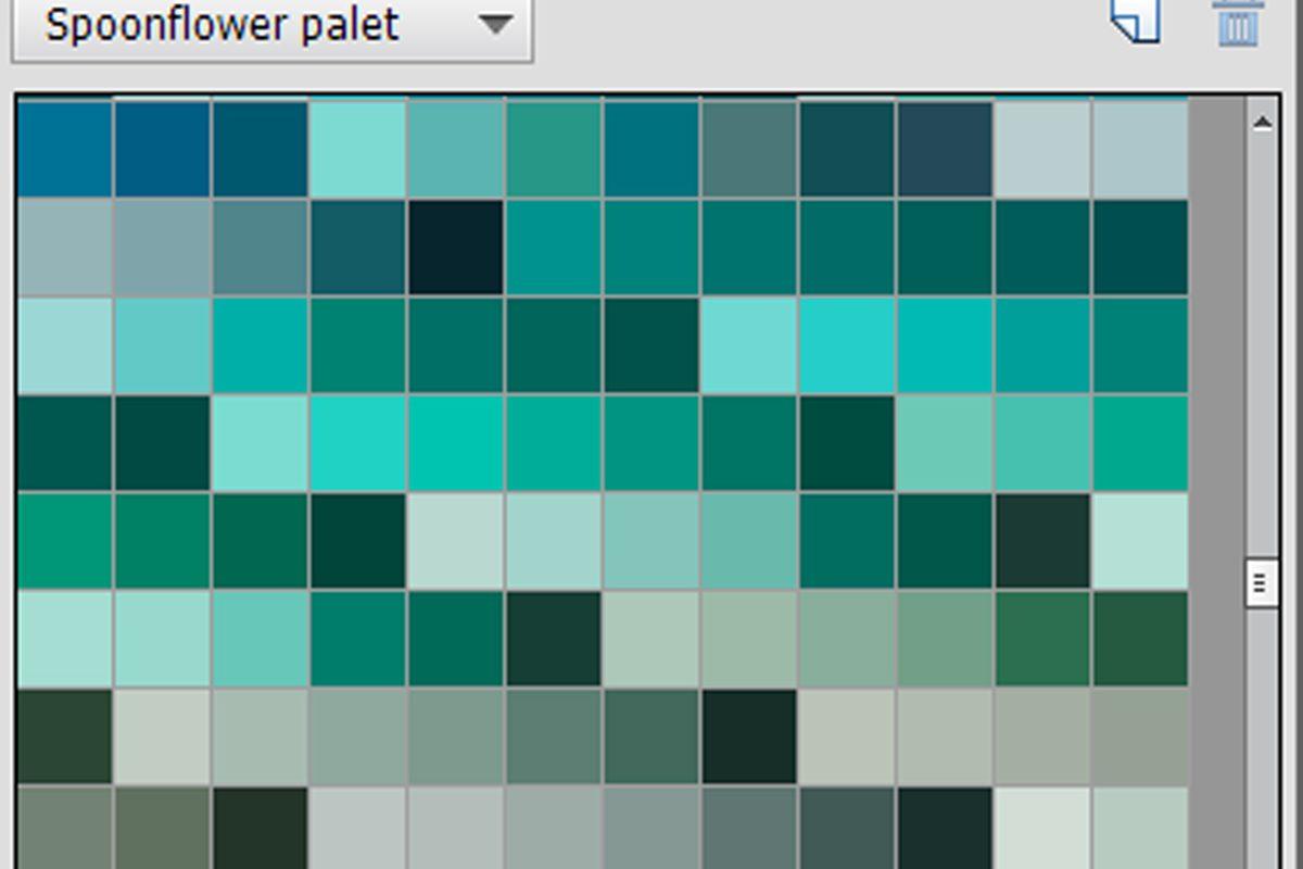 Kleurstalen in Photoshop Elements