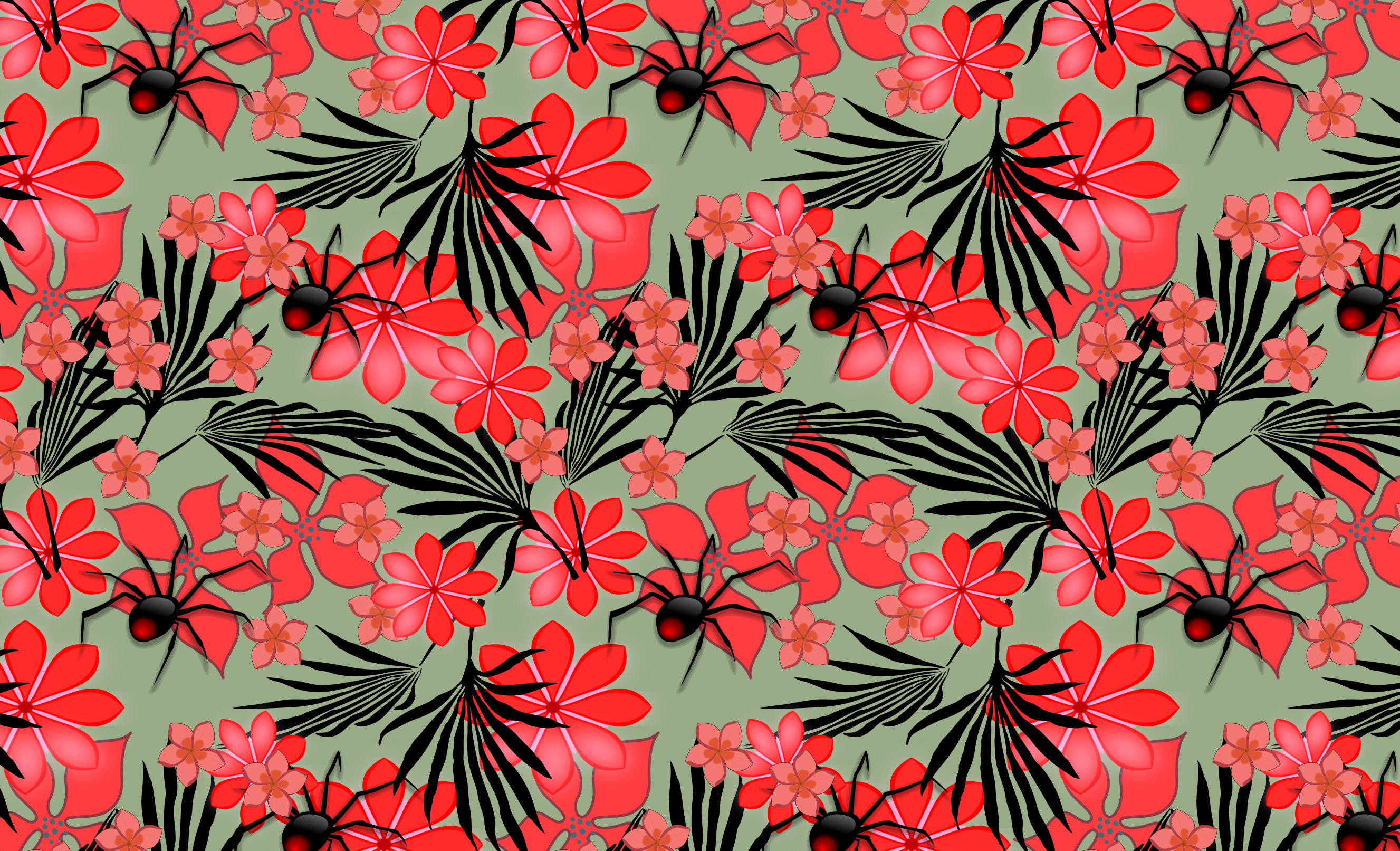 Seamless pattern in Inkscape