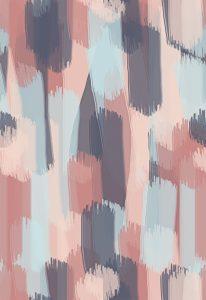 design voor een stof met pastelkleurige verfstrepen-effect